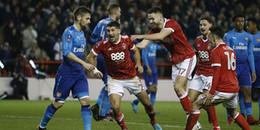 Highlights Nottingham Forest 4-2 Arsenal: Cơn khủng hoảng lan rộng