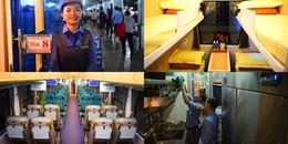Bên trong toa tàu đạt chuẩn 5 sao với nội thất siêu sang ở Sài Gòn có gì?