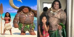 Hóa ra cậu Maui trong bộ phim hoạt hình Moana là 'có thật' ngoài đời