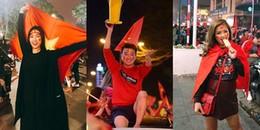 Sao Việt ăn diện thế nào khi xuống đường 'đi bão' ăn mừng chiến thắng U23?