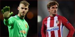Tin hot chuyển nhượng 25/1/2018: Real quyết mua De Gea, Man City 'cuỗm' Griezmann từ tay Barcelona