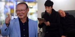 Hành động đáng yêu của Park Hang Seo được dân mạng chia sẻ rần rần trên mạng xã hội