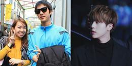 Bị chê nhạt nhòa nhưng Jin từng được xin chụp ảnh cùng vì quá đẹp trai thời chưa nổi tiếng