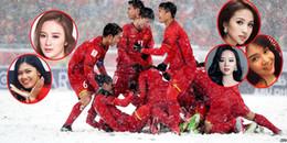 Những mỹ nhân Việt gặp rắc rối vì đụng đến cầu thủ U23 Việt Nam