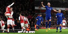 Highlights Arsenal 2-2 Chelsea: Mãn nhãn với bữa tiệc bàn thắng trên sân Emirates
