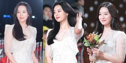 Không phải Irene, Suzy hay Kim So Hyun, Kim Ji Won mới là 'nữ thần sự kiện 2017'