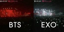 Hậu Golden Disc Awards 2017: fan EXO bị Knet tố chơi xấu, tắt lightstick khi BTS trình diễn