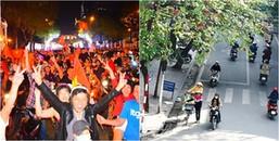Cập nhật ngay thời tiết 2 đầu Hà Nội và Sài Gòn trước khi ra ngoài cổ vũ cho đội tuyển U23 Việt Nam