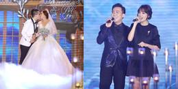 yan.vn - tin sao, ngôi sao - ĐỘC QUYỀN: Em gái Trấn Thành hôn ông xã người Hồng Kông nồng nhiệt trong tiệc cưới