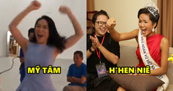 Toàn cảnh phản ứng siêu cấp đáng yêu của sao Việt khi U23 chiến thắng