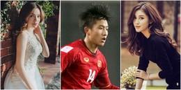 Thấy một cầu thủ U23 lủi thủi không ai chào đón, Hồ Ngọc Hà và Huyền My nghẹn ngào an ủi