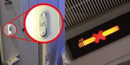 Sự thật ngược đời: Máy bay cấm hút thuốc nhưng trong toilet vẫn có đẩy đủ... gạt tàn