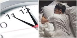 Giật mình với khung giờ vàng đi ngủ được khoa học chứng minh giúp chúng ta trẻ lâu và sống thọ hơn