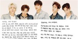 SHINee viết thư tay, tổ chức concert ở Nhật theo di nguyện cuối của Jonghyun