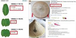 Thật không thể tin nổi: Lá chuối Việt Nam được rao bán với giá 500 ngàn đồng mỗi chiếc tại Nhật Bản