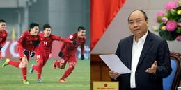 Thủ tướng Nguyễn Xuân Phúc gửi thư chúc mừng đội tuyển U23 Việt Nam vào bán kết giải U23 Châu Á