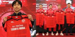'Thỉnh' thầy Toshiya Miura về dẫn đội, Lê Công Vinh quyết tranh ngôi vương V-League 2018