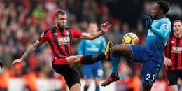 Highlights AFC Bournemouth 2-1 Arsenal: Vắng Sanchez cùng Oezil, Pháo thủ đánh mất chính mình