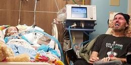 Đau đớn khi bố và con gái dần chết vì ung thư, người phụ nữ đăng tấm ảnh khiến cả thế giới xúc động