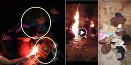 Hậu chia tay chàng trai chưa kịp đòi lại quà thì cô gái này đã 'thổi lửa lên' cho cháy hết thành tro