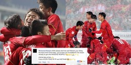 Ấm lòng khi cư dân mạng thế giới khen ngợi không ngớt lời về tuyển U23 Việt Nam sau trận chung kết