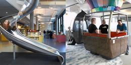 Mê mẩn với văn phòng đáng làm việc nhất thế giới của Google