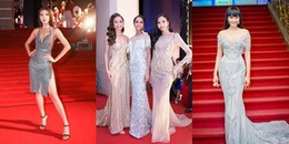 Hoa hậu H'Hen Niê cùng dàn mỹ nhân Việt lộng lẫy 'đốt cháy' thảm đỏ