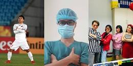 """Giới trẻ đua nhau làm theo dáng đứng của cầu thủ Văn Thanh, thế """"bâu"""" hình hot nhất 2018 đây rồi!"""