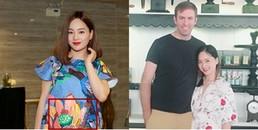 yan.vn - tin sao, ngôi sao - Sau đính hôn với bạn trai Tây cao 2m, Lan Phương tiết lộ đang mang thai 5 tháng