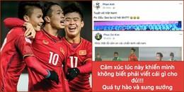 Dù không mê bóng đá cũng phải 'đứng ngồi không yên' trước đại thắng lịch sử của U23 Việt Nam