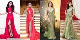 Cái kết nào cho Á hậu Hoàn vũ Việt Nam 2017 khi liên tục 'đụng' váy mỹ nhân Việt?