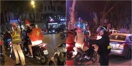 Những hành động rất đẹp của các anh CSGT dành cho cổ động viên U23 Việt Nam