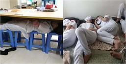 Những địa điểm ngủ 'không tưởng' mà chỉ có sinh viên ngành Y mới nghĩ ra được