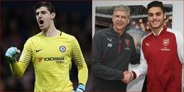 Tin hot chuyển nhượng 5/1/2018: Arsenal đón tân binh đầu tiên, Courtois muốn ở lại Stamford Bridge!