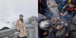 Chùm ảnh: Sapa chìm trong sương mù dày đặc lãng mạn chẳng kém London