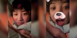 Chanyeol gây sốt vì quá dễ thương khi vừa 'ngái ngủ' vừa livestream trò chuyện cùng các fan EXO-L
