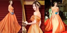Quỳnh Anh Shyn bất ngờ xinh như nữ thần, 'đốt nóng' thảm đỏ