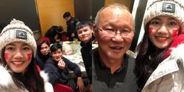 Đây là mỹ nhân Việt được tiếp cận thầy trò HLV Park Hang-seo sau trận cầu lịch sử