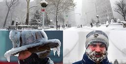 Không chỉ lạnh hơn sao Hỏa mà cả nước Mỹ giờ đã phủ trắng xóa chẳng khác gì trong phim viễn tưởng
