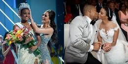 Đám cưới hoành tráng của Hoa hậu Hoàn vũ và cầu thủ bóng bầu dục