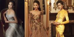 Dàn thí sinh Hoa hậu Hoàn vũ Việt Nam 2017 'đại chiến' với váy dạ hội