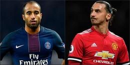 Tin hot chuyển nhượng 30/1/2018: Lucas Moura chính thức đến London, Ibrahimovic rời Man United