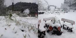 Tuyết phủ trắng xóa Sapa, đây sẽ là địa điểm được giới trẻ đổ về nhiều nhất trong vài ngày tới