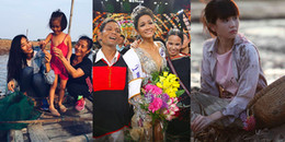 Những sao Việt xuất thân từ gia đình nông dân, nghèo khó
