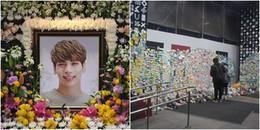 Khu tưởng niệm Jonghyun (SHINee) bất ngờ bị người vô gia cư phá hoại, ăn cắp