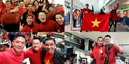 Dàn sao Việt nô nức đáp chuyến bay sớm đến Thường Châu cổ vũ U23 Việt Nam