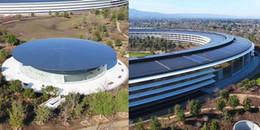 Trụ sở mới của Apple đã hoàn thành và hoành tráng không thể 'đỡ' nổi