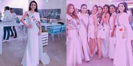 Mỹ nhân 'soán ngôi' vòng eo của Ngọc Trinh lại trắng tay phần thi phụ ở Hoa hậu Liên lục địa