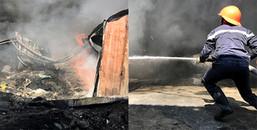 Bình Dương: Cháy lớn dữ dội lan sang trường mầm non, giáo viên ôm trẻ tháo chạy thục mạng ra ngoài