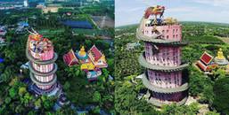 """Choáng ngợp trước """"ngôi đền rồng lượn"""" có 1-0-2 ở Thái Lan"""